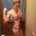 Girl with muscle - katie ringley
