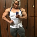 Girl with muscle - Shannon Courtney