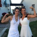 Girl with muscle - Veronica Ann Kerin (l)