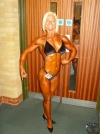 Girl with muscle - Sarah Hallett