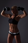 Girl with muscle - Ewa Zapedowska