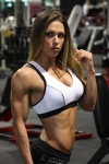 Girl with muscle - oksana grishina