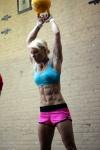Girl with muscle - Christina Gloger