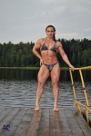 Girl with muscle - Olga Belyakova