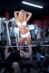 Girl with muscle - Lacey Lynn Johnston