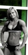 Girl with muscle - Nickie Pardue Clark