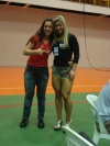 Girl with muscle - Fernanda Zanzoni (right)