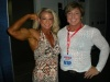 Girl with muscle - Tina Chandler (l), Wendy Watson (r)