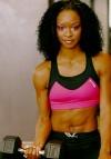 Girl with muscle - LaKya Brookins