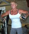Girl with muscle - Iris Davis