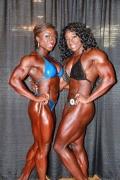 Girl with muscle - Alana Shipp, Margie V. Martin (R)