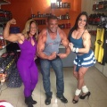 Girl with muscle - Norma Oliveira (L) - Renata Camargo (R)