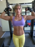 Girl with muscle - Edina Besze
