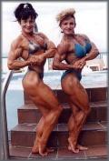 Girl with muscle - Deborah Compton / Kathy Illingworth