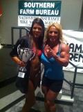Girl with muscle - Judy Gaillard (R)