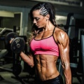 Girl with muscle - Nat Rochner