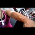Girl with muscle - Kim Anthony