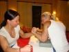 Girl with muscle - Endija Ansone (l) , Sandra Rodland (r)
