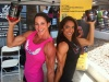 Girl with muscle - Michelle Trapp (l) , Sabrina Taylor (r)