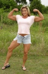 Girl with muscle - Giana Holder