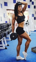 Girl with muscle - lilia