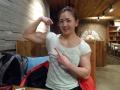 Girl with muscle - Yeon Woo Jhi