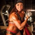 Girl with muscle - Trina DiBiasio-dodson