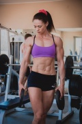 Girl with muscle - Olga Shestoperova