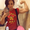 Girl with muscle - Francisca Escobar