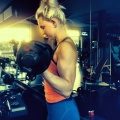 Girl with muscle - carina moeller mikkelsen