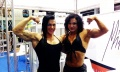 Girl with muscle - Suzy Kellner (L) - Jacqueline Fuchs (R)