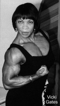 Girl with muscle - Vickie Gates