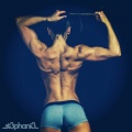 Girl with muscle - Stephanie Buckland