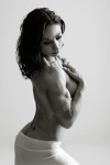 Girl with muscle - Lesley Rothera