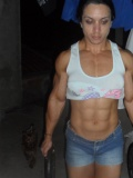 Girl with muscle - Karla Bachiega