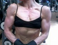 Girl with muscle - dorina