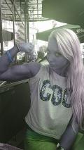 Girl with muscle - kornelia