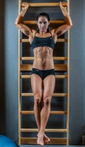 Girl with muscle - Jacqueline Dahlstrom