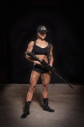 Girl with muscle - Olga Tupitsyna