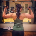 Girl with muscle - Amanda Dabe