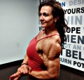 Girl with muscle - Ildiko Gaspar