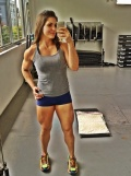 Girl with muscle - Flavia Tavares