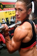 Girl with muscle - Pauline Nordin