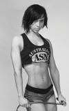 Girl with muscle - Ewelina Gutowska