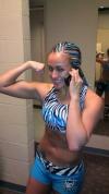 Girl with muscle - Jordan Gaza
