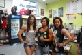 Girl with muscle - Yeon Woo Ji (L) - Dana Linn Bailey (C) - Joan Liew