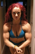 Girl with muscle - bonnie gillespie