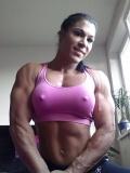 Girl with muscle - Renata Hronova
