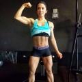 Girl with muscle - Vanessa Avila Chung