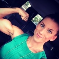 Girl with muscle - Bekah Tervin